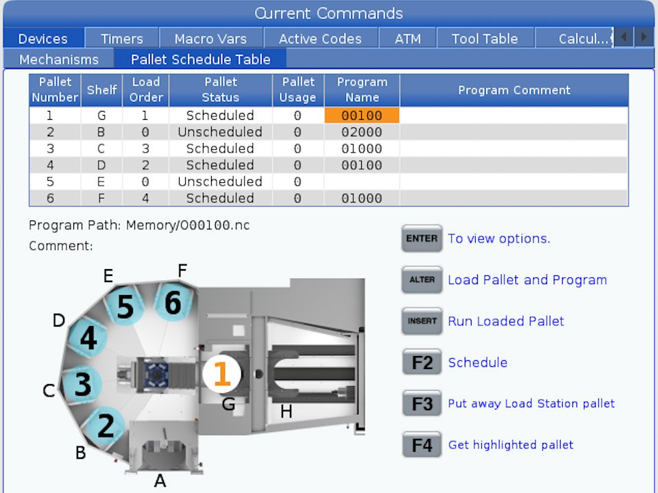 EC-400   40-Taper Mill   Dual-Pallet HMC   Horizontal Mills – Haas