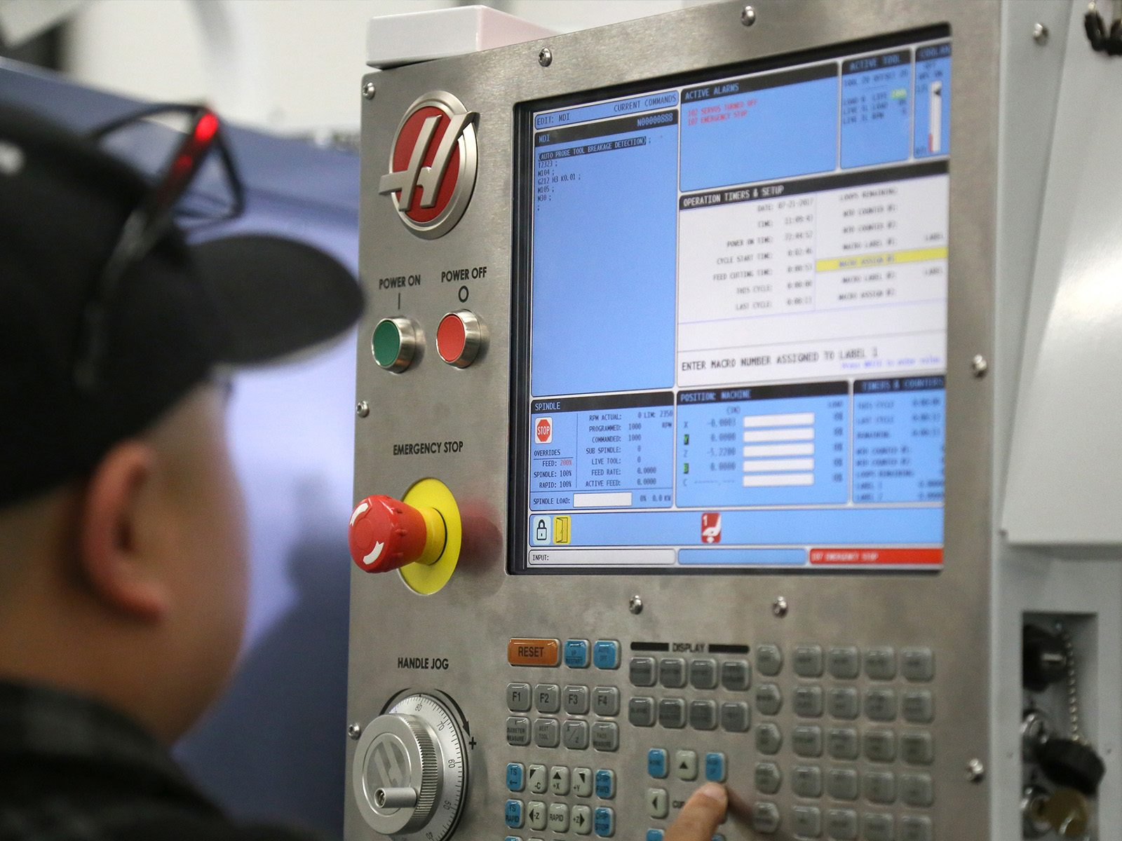 The Haas Control