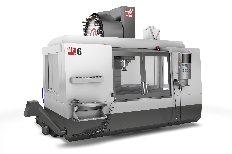 VF-6/50 | 50-Taper Mill | Vertical Mills – Haas CNC Machines on