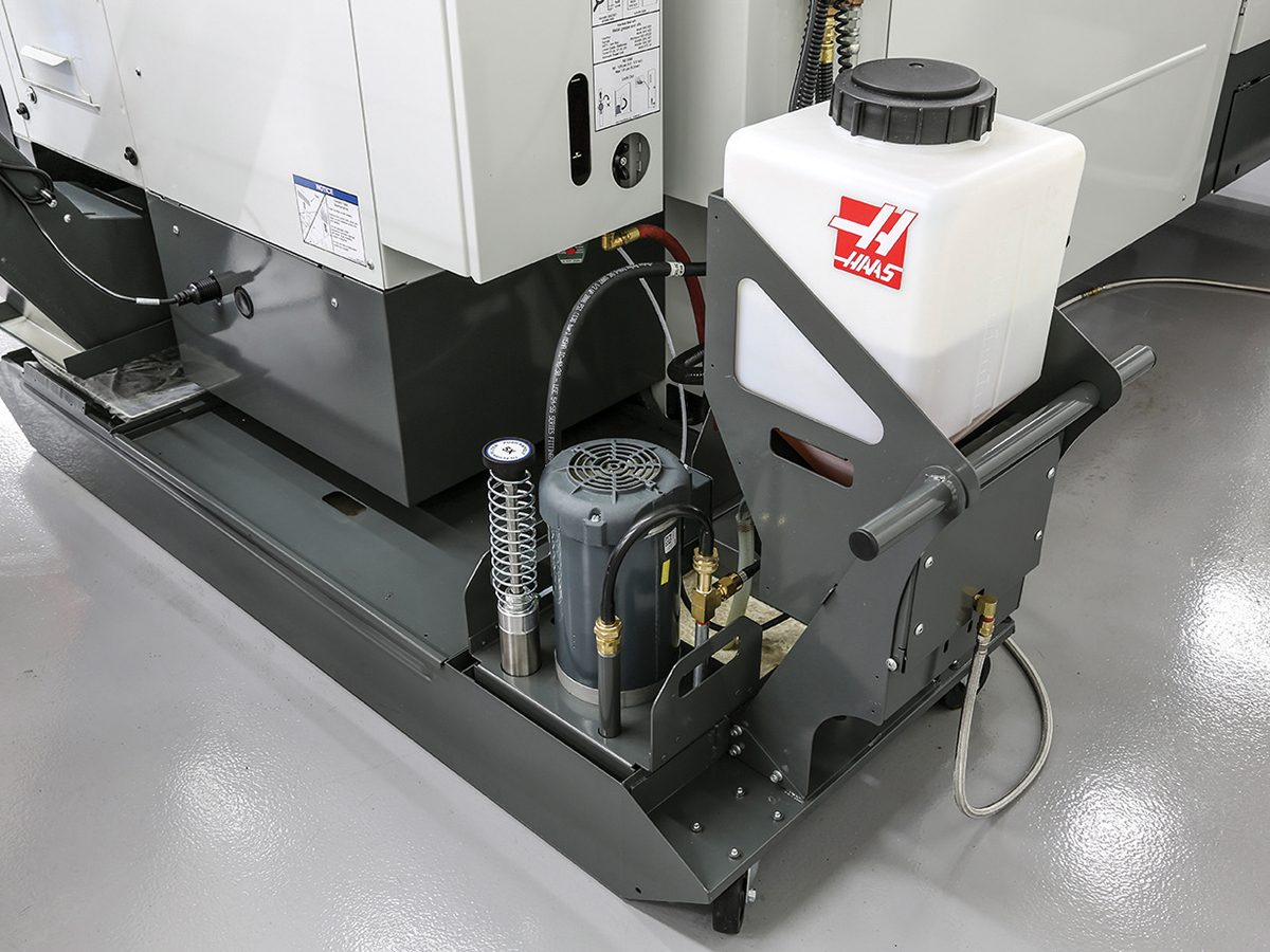 Machine Tool Coolant Systems : Chip coolant management