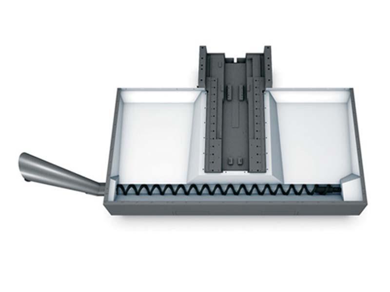 Шнековый транспортер для стружки покупка транспортера т5