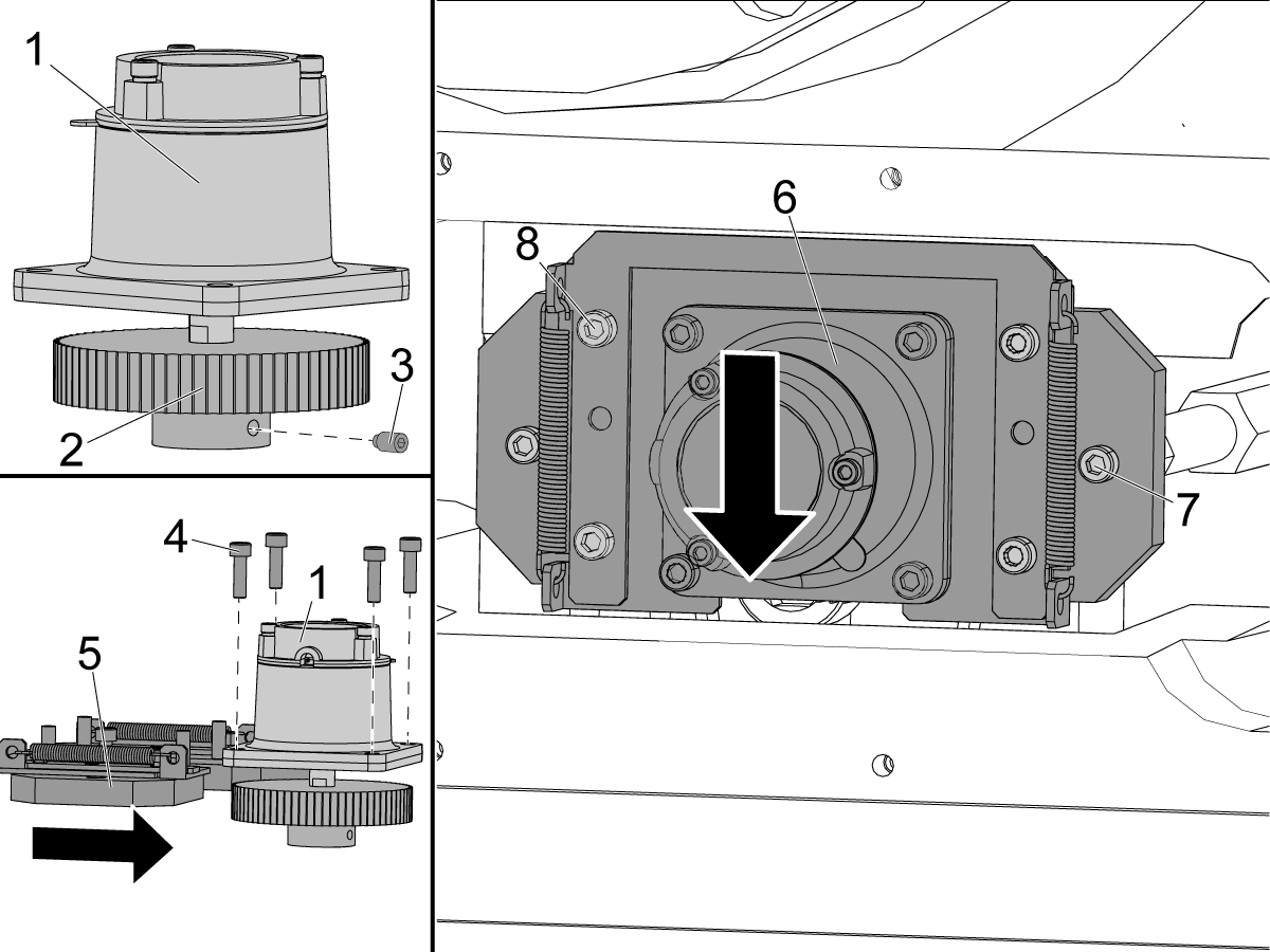 40 50 Taper Spindle Shafted Encoder Replacement Ad0191 Haas Wiring Diagram 1