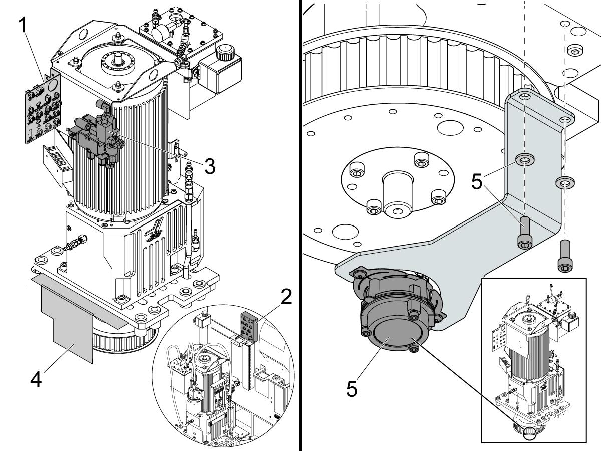 50-taper - Gearbox - Installation Aid - Vmc