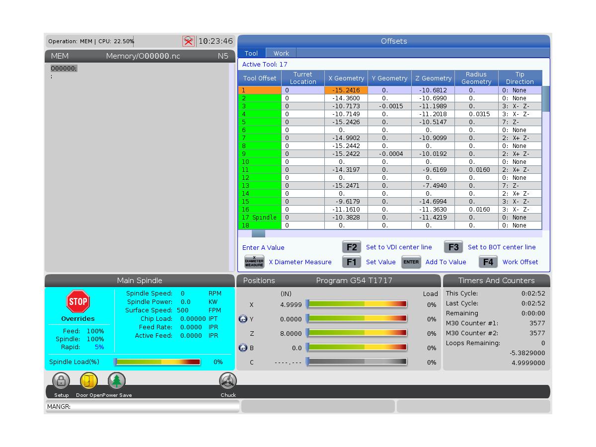Automatic Tool Presetter (ATP) - Alignment - Test - Calibration