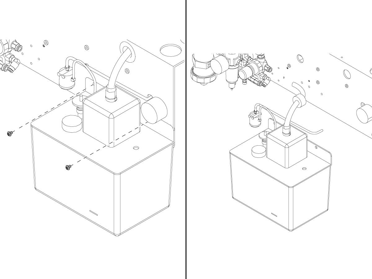 bijur - mechanical - oil pump - replacement