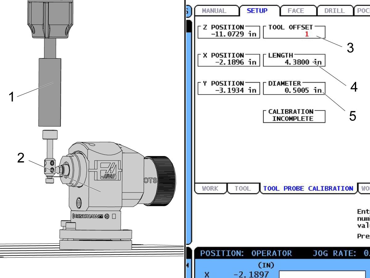 Probe Calibration (WIPS) - CHC