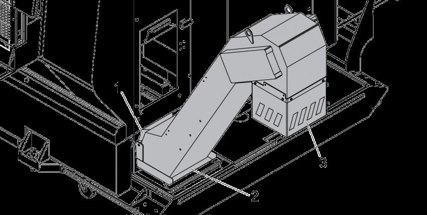 Chip Conveyor - Field Installation - ST Series - NGC - AD0435 on