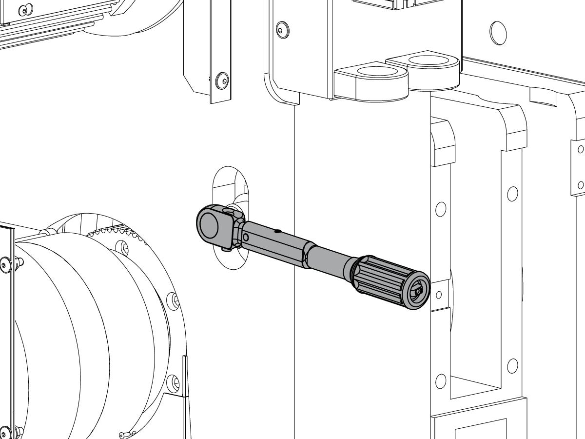 spindle drive belt tension adjustment gates sonic meter lathe. Black Bedroom Furniture Sets. Home Design Ideas