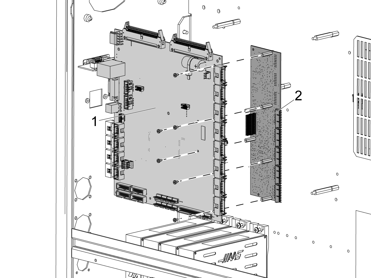 Fourth And Fifth Axis Drive Installation Mill Chc Wiring Schematic For The Plugs Of Four Major Servo Manufacturers 3