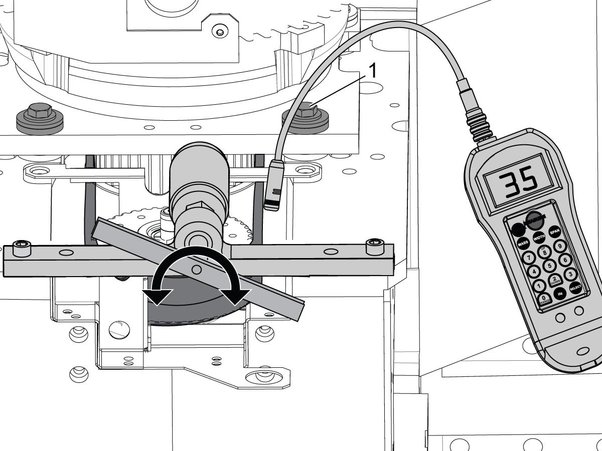 spindle drive belt tension adjustment gates sonic meter mill. Black Bedroom Furniture Sets. Home Design Ideas