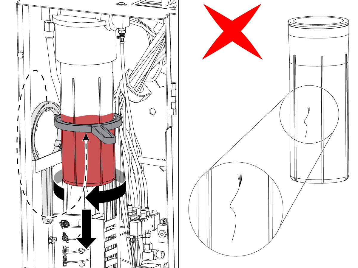 Minimum Lubrication - Axis - Grease Reservoir - SHC007 - Refill - AD0011
