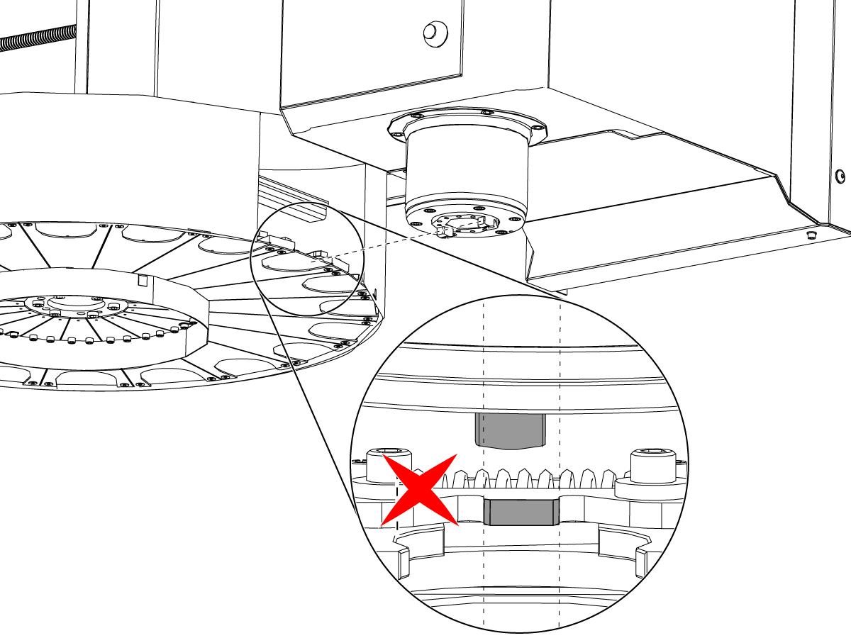 Umbrella Tool Changer - Spindle Orientation Offset - NGC