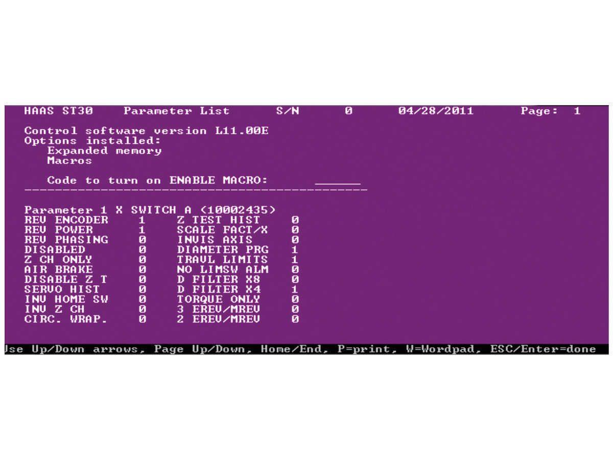 Parameter Checker Program - CHC