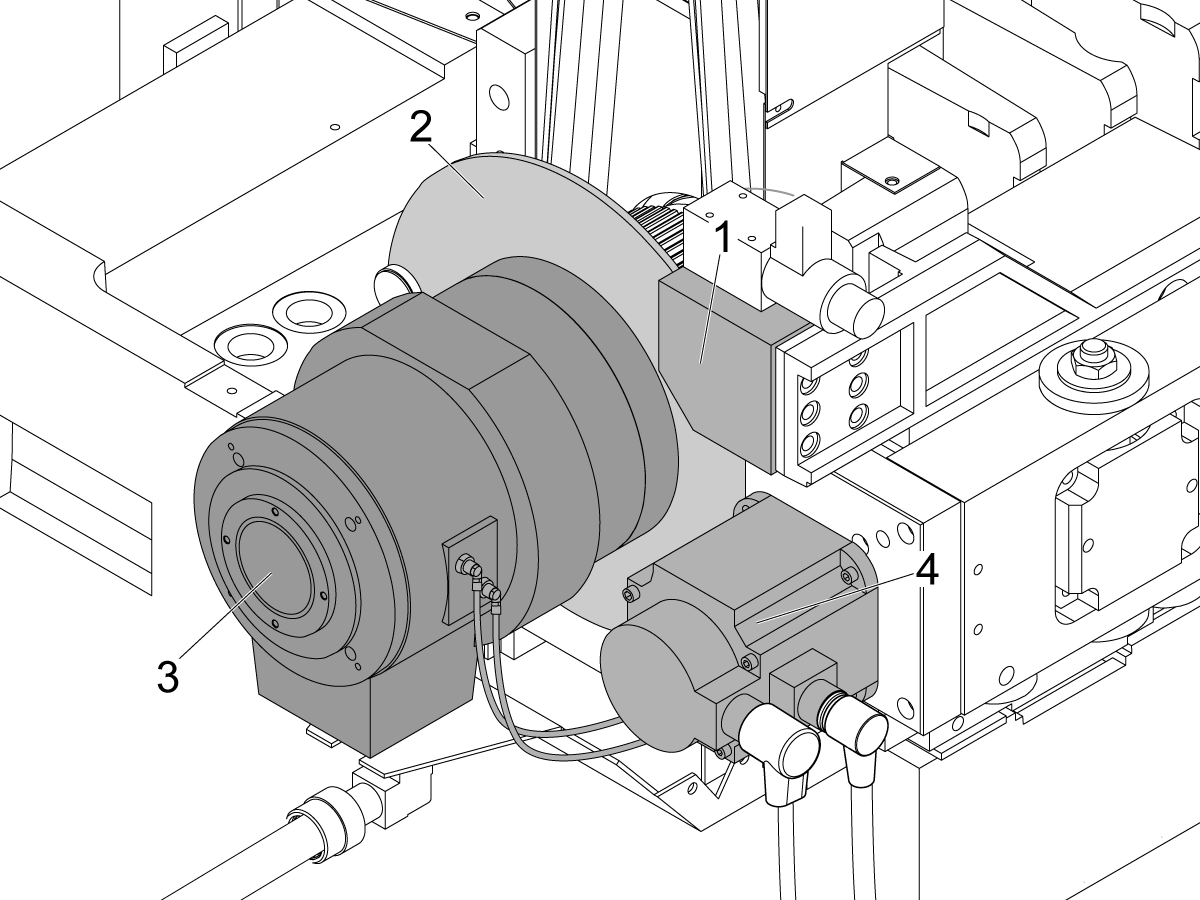 this procedure tells you how to replace these parts on st and ds lathes