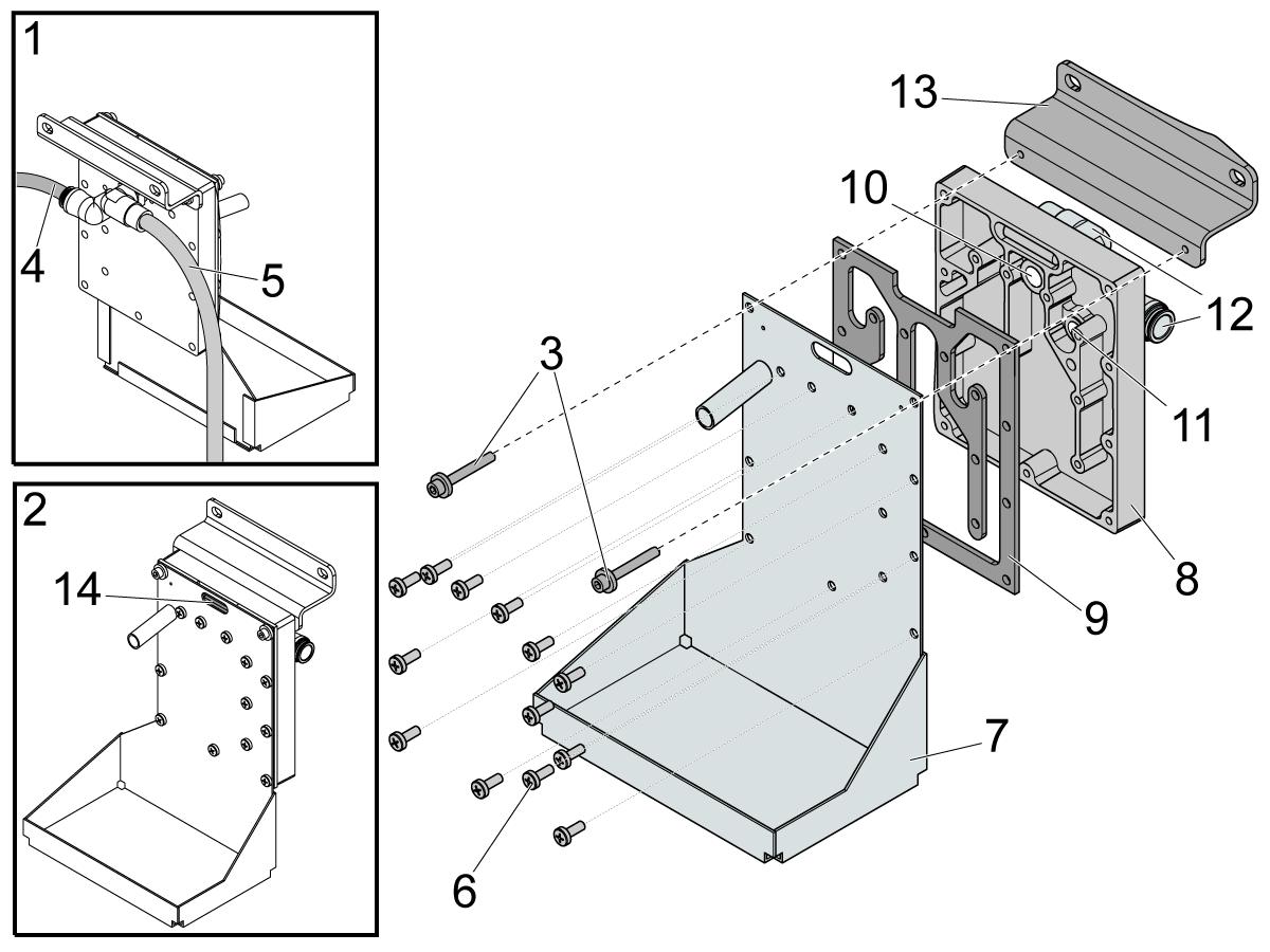 standard coolant - oil coolant separator
