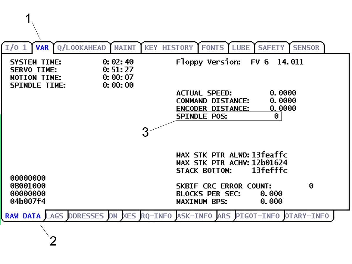 Umbrella Tool Changer - Set Parameter 257 - Spindle