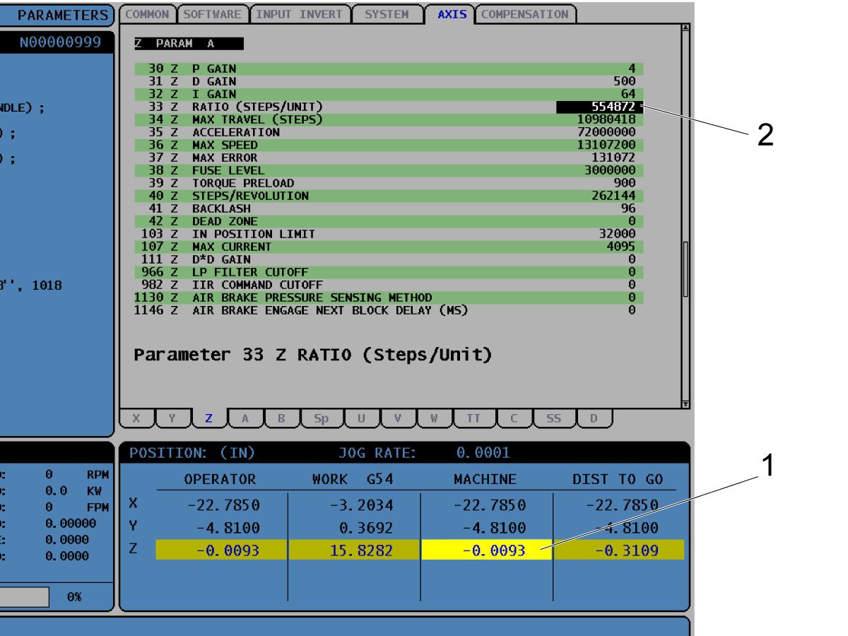 Umbrella Tool Changer - Set Parameter 64 - Z-Axis Tool ...