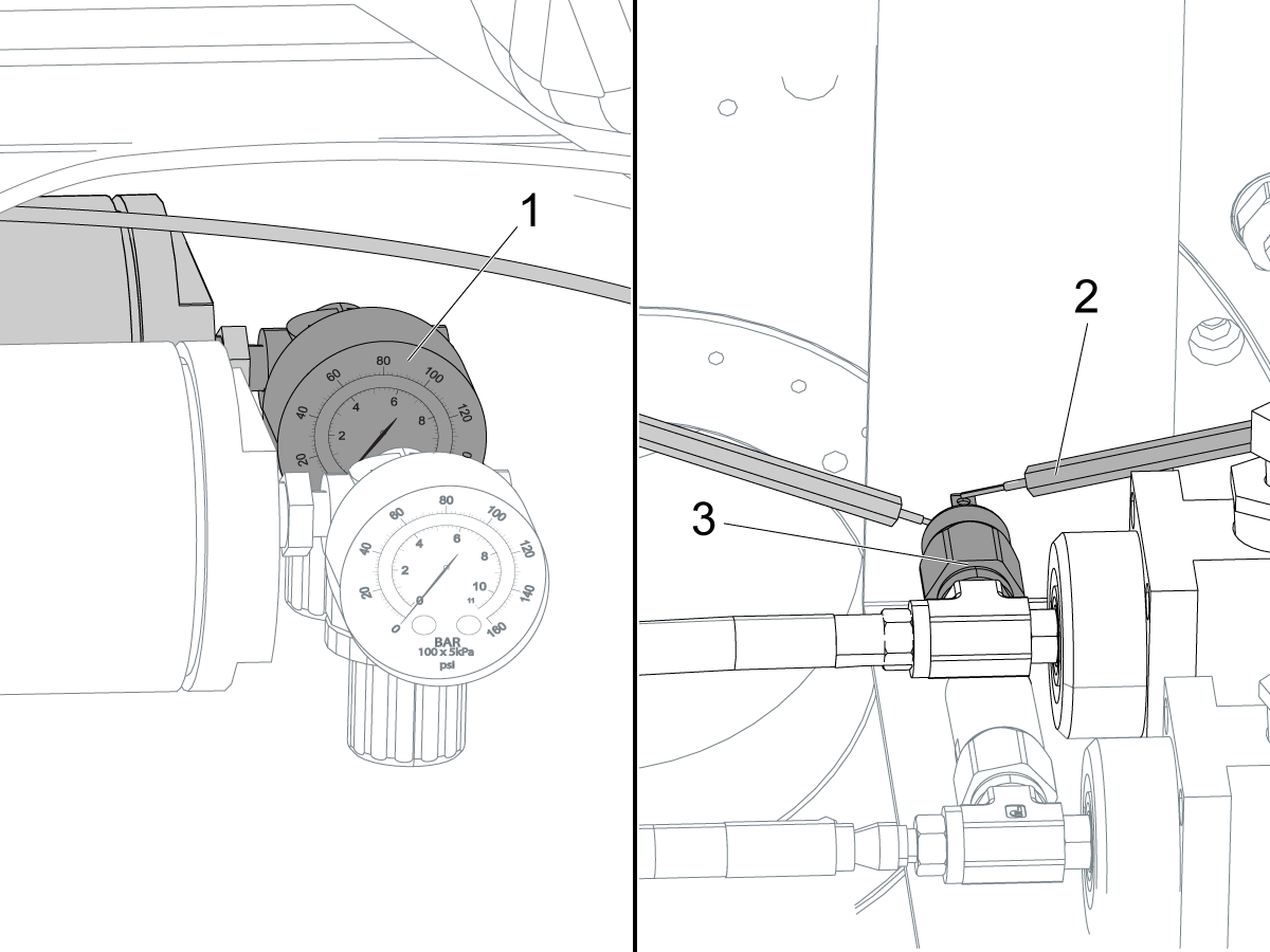 b axis and c axis rotary brakes t 0062c bleed instructions umc Air Brake Component Diagram 1