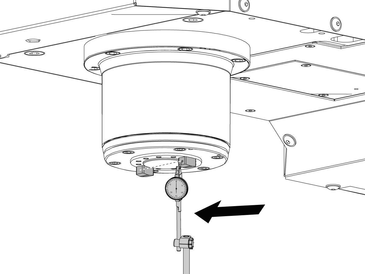 Side-Mount Tool Changer - Set Parameter 257 - Spindle Orientation