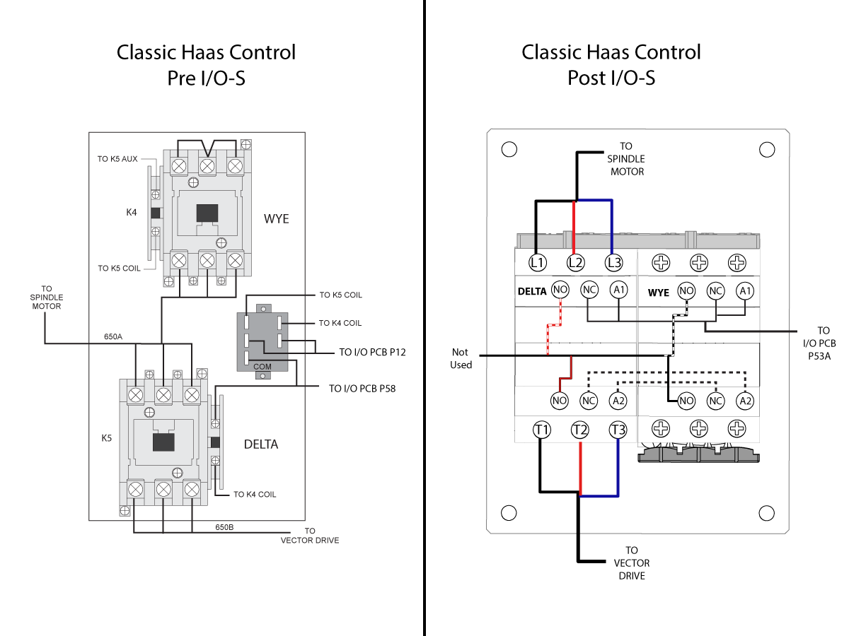 Wye-Delta Contactor - Replacet - AD0328