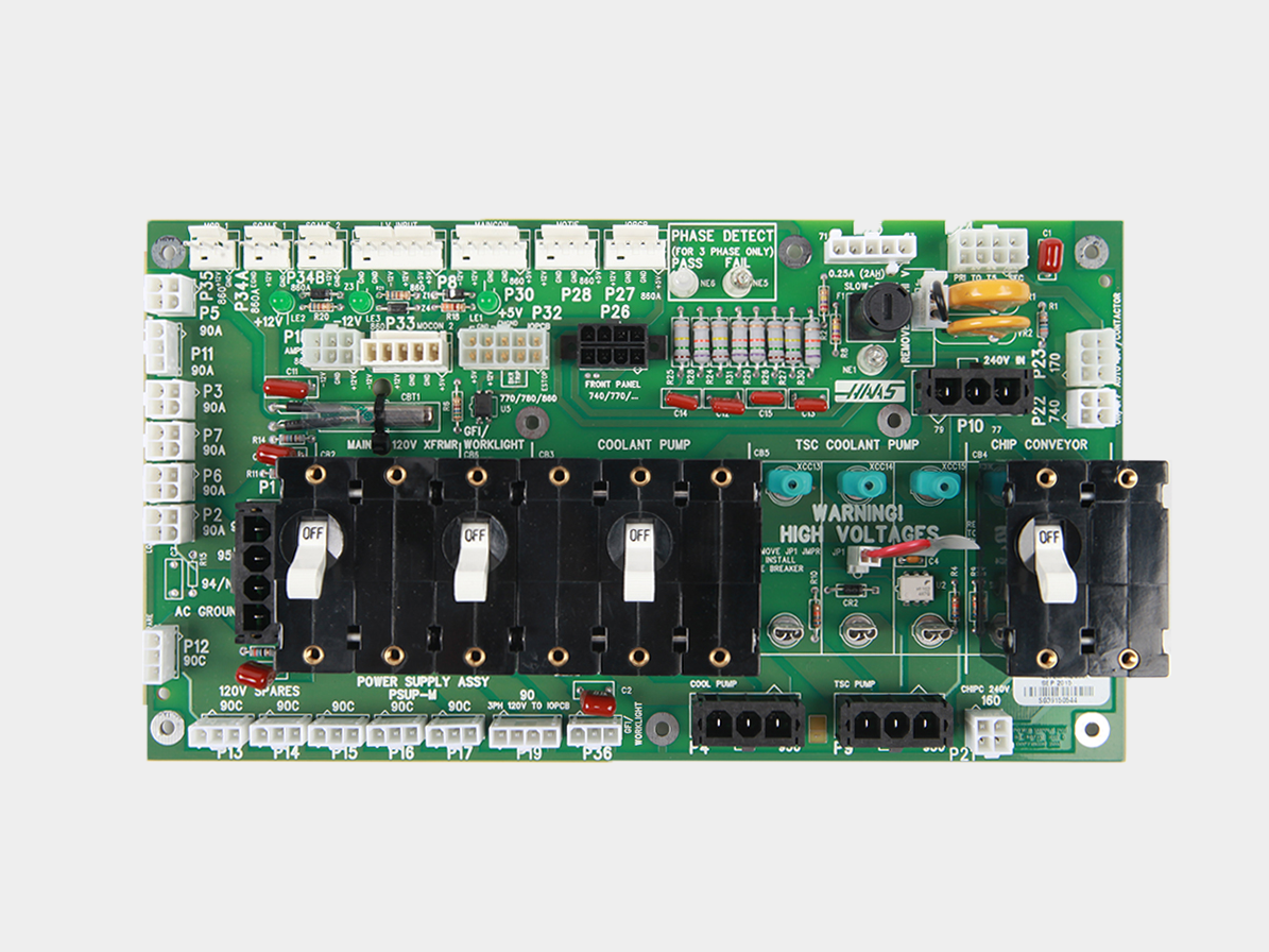 Power Distribution Pcb Chc Troubleshooting Guide How To Organise Electronic Components Circuit Simulation The Mounts Low Voltage High Fuses And Breakers