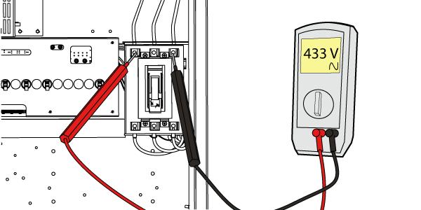 Podłącz transformator wye